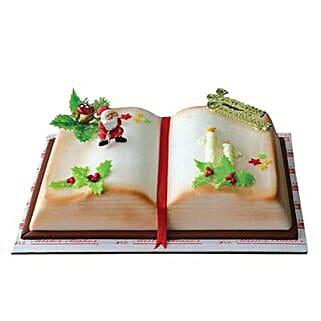 Santa Book: Christmas Cake Delivery in UAE