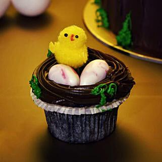 Set Of 6 Designer Easter Cupcakes: Send Easter Gifts to UAE