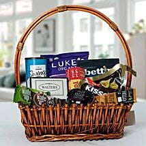 Small Basket Chocolate Wonder: Mother's Day Gift Delivery in UAE