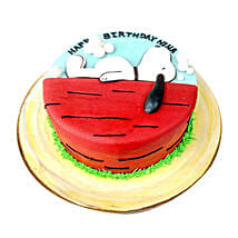Snoopy Cake: Cartoon Cake Delivery in UAE