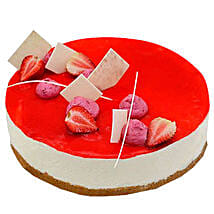 Strawberry Cheesecake: Send Birthday Cakes to Abu Dhabi