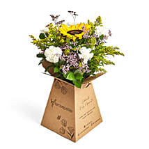 Sunshine love: Send Flower Bouquets to Abu Dhabi