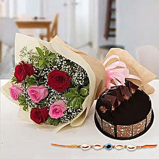 Sweet combo for bhaiya: Send Rakhi to UAE