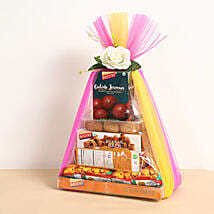 Sweets and Savories Hamper: Diwali Gift Delivery in Dubai UAE
