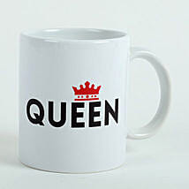 White Queen Mug: Send Mother's Day Gifts to Ajman