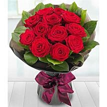 A Dozen Red Roses: Women's Day Gift Delivery in UK