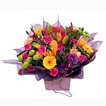 A Myriad of Colours: Birthday Bouquet to UK