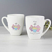 As Pretty As Cupcake Printed Mug: Mothers Day Gift to UK
