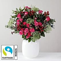 Beautiful Flower Bouquet: Valentines Day Gifts to London