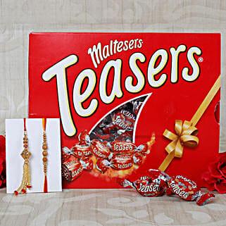 Bhaiya Bhabhi Maltesers Chocolate Hamper: Send Rakhi With Chocolates to UK