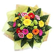 Bright Gerbera Delight: Send Flowers to Chicester UK