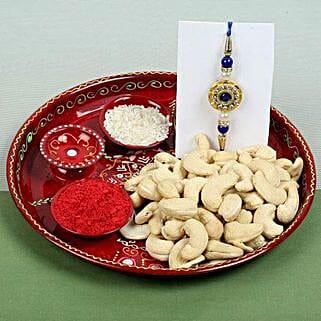Celebration Cashew Nuts with Rakhi: Send Rakhi With Dryfruits to UK