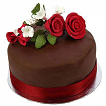 Chocolate Rose Cake: Cake Delivery UK