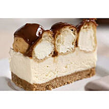 Chocolate Truffle Profiterole Cheesecake: Christmas Cakes to UK