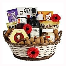 Classic Sweet Gift Basket: Send Chocolate to UK