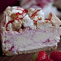 Eton Mess Strawberry Cheesecake: Mother's Day Cake Delivery in UK