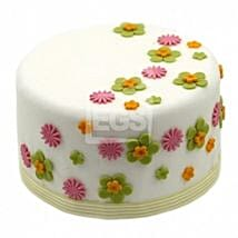 Flower Duet Cake: Send Cakes to Derby