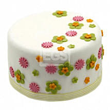 Flower Duet Cake: Cake Delivery in Bristol