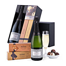 Francesc Ricart Cava And Neuhaus Chocolates: Gift Baskets in London, UK