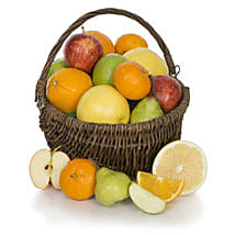 Fruit Basket With Chocolates: Friends