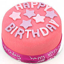 Happy Birthday Pink Cake: Cake Delivery UK