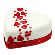 Hearts And Stars Cake: Birthday Cake Delivery London