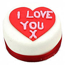 I Love You Heart Cake: Cake Delivery in Bristol
