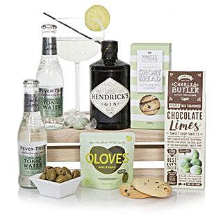 Luxury Gin Hamper: Wine Baskets UK