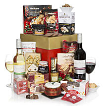 Luxury Gourmet Christmas Hamper: Mother's Day Gift Delivery in UK