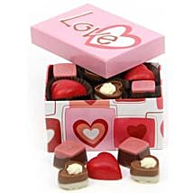 Multi Heart Chocolate Box: Valentines Day Gifts to London
