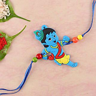 Naughty Little Krishna Kids Rakhi: Rakhi for Kids in UK