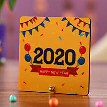 New Year Greetings Table Top: Send New Year Gifts to UK