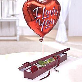 Perfection Balloon Gift Set: Anniversary Gifts London