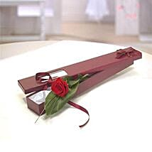 Perfection Gift Box: Valentine Flower Delivery in UK
