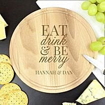 Personalized Chopping Board For Christmas: Send Personalised Gifts to UK