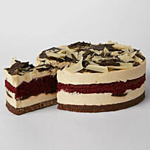 Simply Red Velvet Cheesecake: Cake Delivery in UK