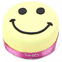 Smiley Celebration Cake For Girl: Anniversary Cake Delivery in UK