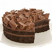 Swiss Alps Fudge Cake: Mother's Day Cake Delivery in UK