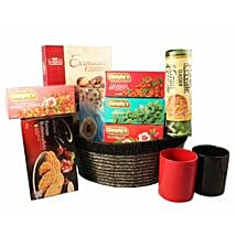 Tea Time Gift basket: Send Gifts to Manchester, UK