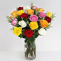 Vibrant Beauty Bouquet: Send Flowers to Oxford