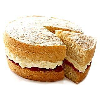 Victoria Sponge Cake: Send Birthday Cakes to London
