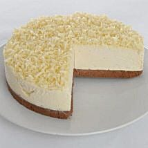 White Chocolate Truffle Cheesecake: Mother's Day Cake Delivery in UK