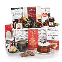 White Christmas Hamper: Christmas Gifts to UK