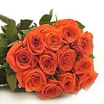 12 Orange Roses: Send Flowers to Denver