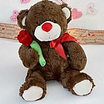 Accept my Rose Teddy Bear: Return Gift Delivery in USA