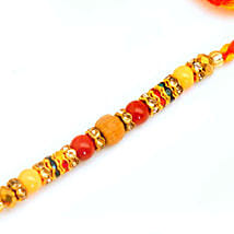 Beautiful Beads Rakhi: Rakhi Delivery in USA