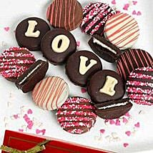 Belgian Choco Covered Oreo: Send Valentine Gifts to Houston