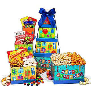 Birthday Gift Tower: Best Seller Cakes for USA