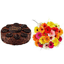 Birthday Treat: Cake and Flowers Delivery in San Jose