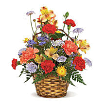 Carnival of Color: Send Mixed Flowers to USA